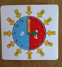* Nuovo Design * - Orologio faccia: imparare a dire il tempo-esigenze particolari-insegnamento