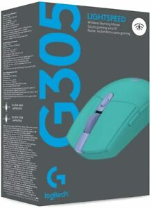 Logitech G305 Lightspeed Wireless Gaming Mouse- Color Mint