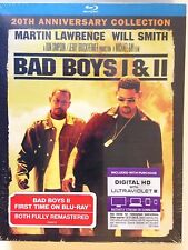 Bad Boys 1 & 2 (Blu-ray  2-Pack, 2015, 2-Disc Set )Includes HD UV
