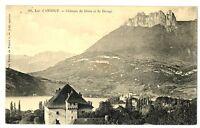 CPA 74 Haute-Savoie Lac d'Annecy Château de Dérez et de Duingt
