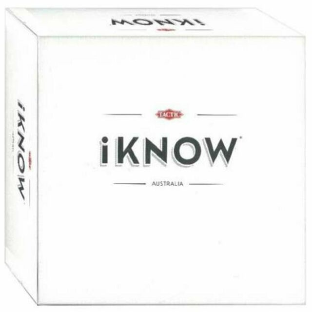 iKNOW Card Game Board Game