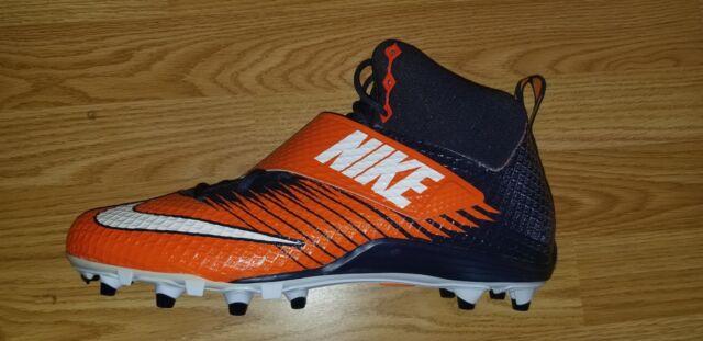 b1d4f8be6 Nike Lunarbeast Strike Pro TD Football Cleats Blue Orange Size 14 ...
