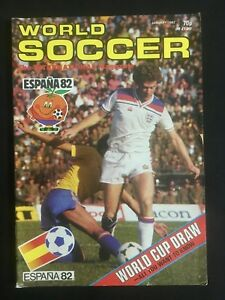 MAGAZINE-WORLD-SOCCER-ESPANA-82-MUNDIAL-SPAIN-WORLD-CUP-SPECIAL-CRUYFF-AJAX