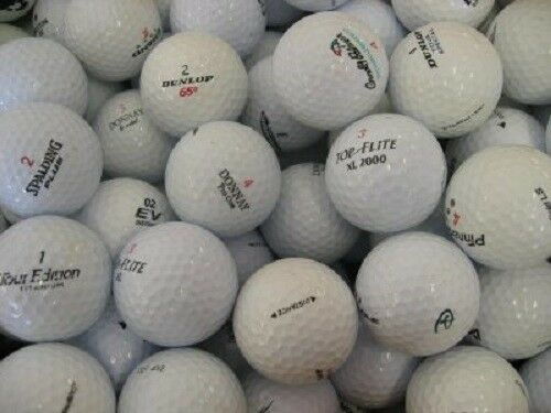 120 - 10 Dozen Assorted Mint AAAAA Quality Recycled Used Golf Balls