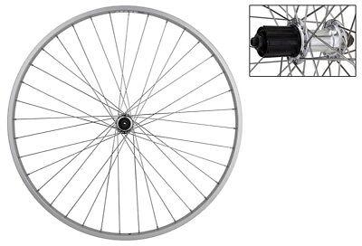 WM Wheel  Rear 700 622x14 Wei Lp18 Bk Msw 36 Aly Fw 5//6//7sp Qr Bk 126mm Dti2.0sl