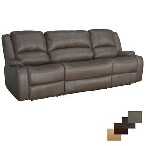 RecPro-Charles-94-034-Powered-Wall-Hugger-Recliner-RV-Furniture-Drop-Down-Console
