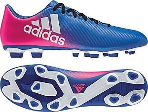 adidas X 16.4 FxG J Kinder Fußballschuh BB1043 blau-weiß-pink