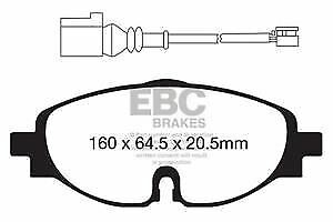 FRONT BRAKE DISCS AND BRAKE PADS FITS AUDI SEAT SKODA VOLKSWAGEN