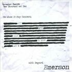 All You Need To Know, Act I * by Emerson (CD, 2011, Emerson)
