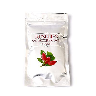 Rosehips 5% Ascorbic Acid Extract Powder 1Kg (RM1KROSE)
