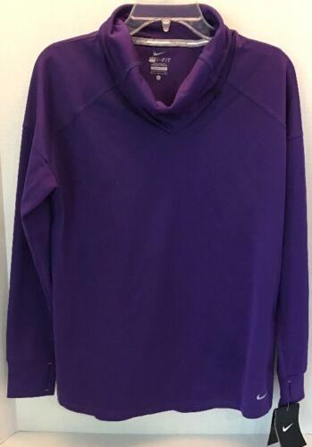 cuello medio Nwt Camisa peso Relay ajustable de color Nike 887232676834 larga running morado manga de 60 y q0wqC7r