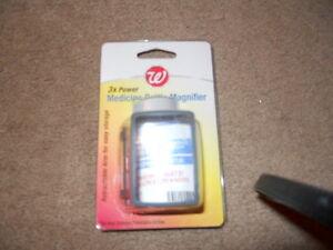 Walgreens 3x Power Medicine Bottle Magnifier New 311917111247 Ebay