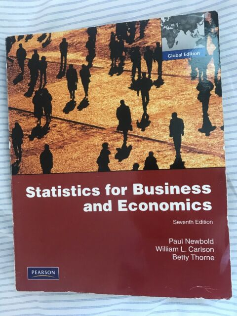 Review Copy Statistics for Business and Economics and Student CD-Rom by Paul...