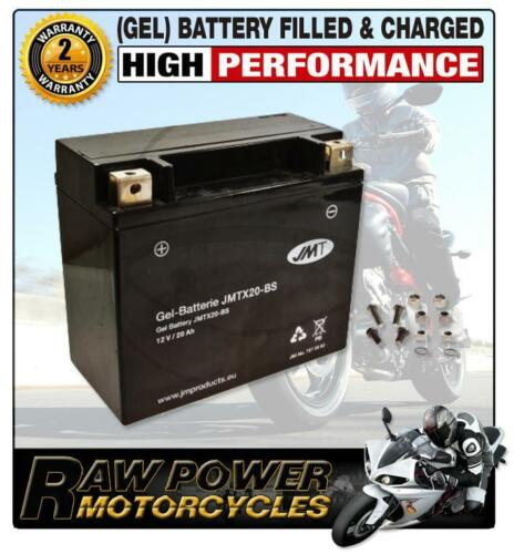 Harley Davidson XLH 1200 Sportster CAP 1993 JMT Gel Battery YTX20-BS