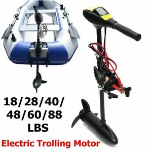Electric Trolling Motors Inflatable Boats Outboard Engine Top Quality Boat Tools Ebay