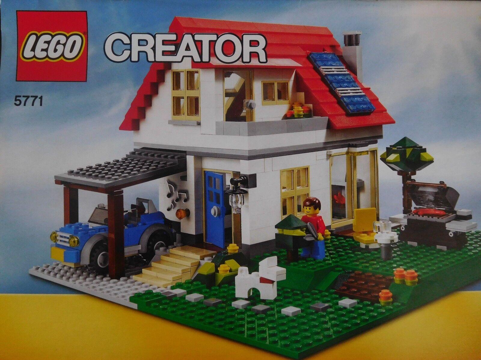 LEGO Creator Villa (5771) mit Bauanleitungen sowie OVP
