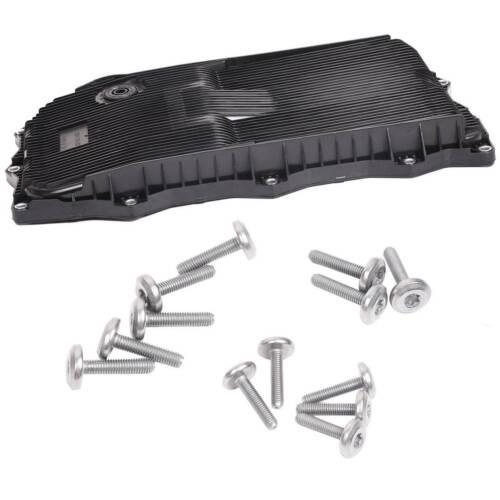 Bapmic Transmission Oil Pan+Gasket+Drain Plug for Chrysler Dodge Ram Jeep