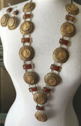 JOSEFF Of Hollywood Vintage Asian Statement Neckla