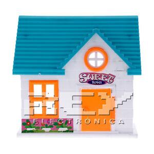 Casa De Munecas Juego Ninos 3 Anos Con Muneco Y Muebles J179 Ebay