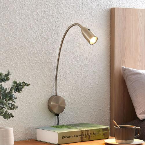LED-Wandlampe Ammara Flexarm Leseleuchte Lindby dimmbar Sensor Wohnraum Licht