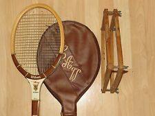 Wilson Wood Frame Collectors Racquet/Guard, Endorsed by Billy Jean King,4-1/2""