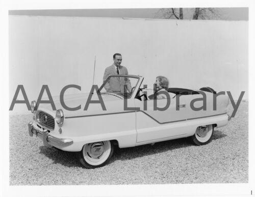 Factory Photo 1957 Nash Metropolitan Convertible Coupe Picture Ref. #57162