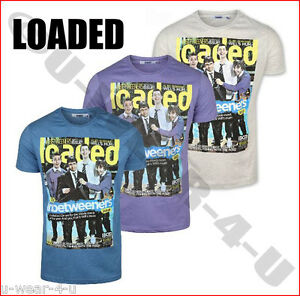 8441fa3e Image is loading MENS-FASHION-LOADED-T-SHIRT-THE-INBETWEENERS-PRINTED-