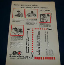 A131-Advertising Pubblicità-1959-SCUOLA RADIO ELETTRA DI TORINO