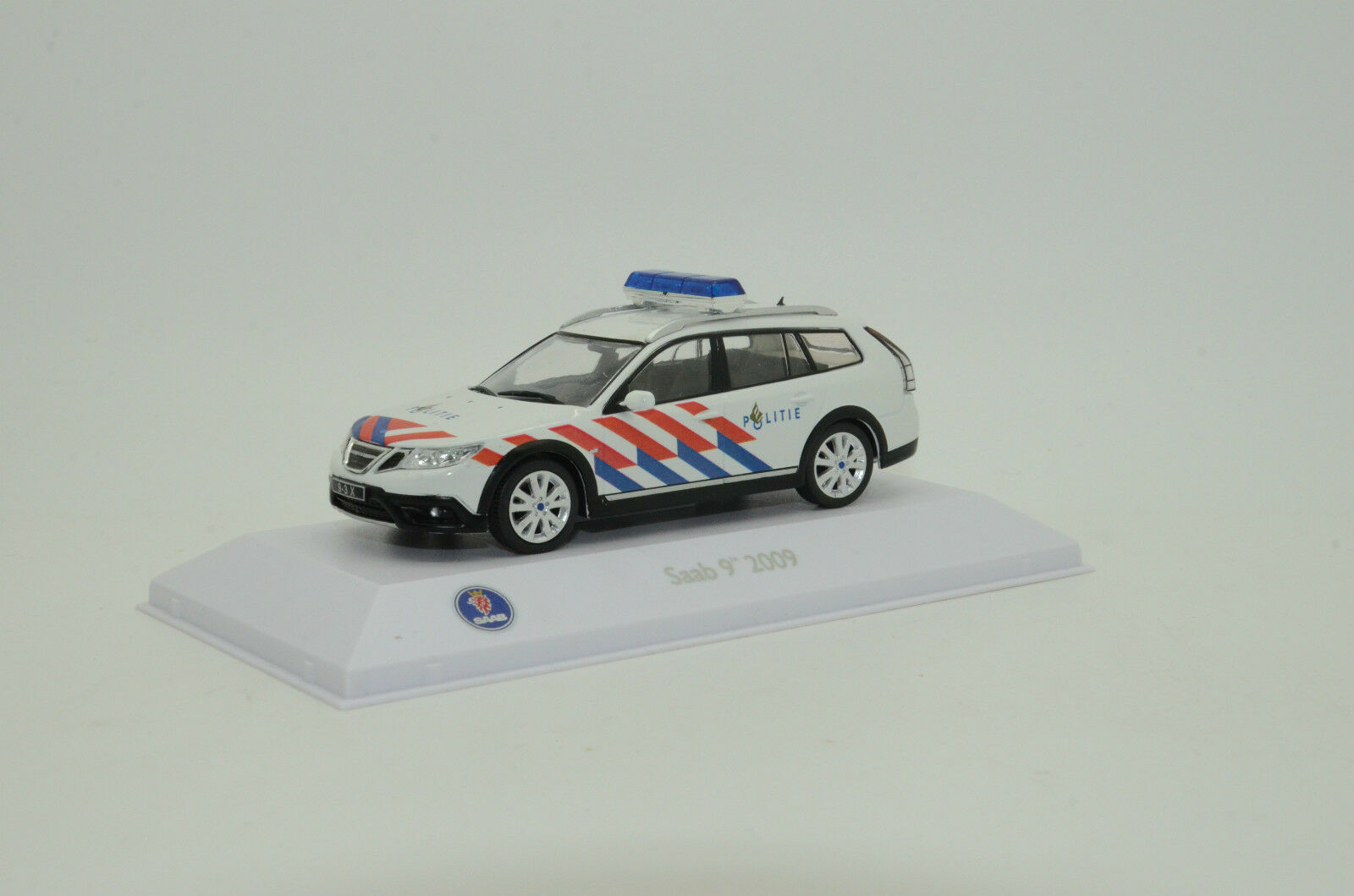 RARE  Saab 9-3x 2009 Holland Politie Police Custom Made 1/43
