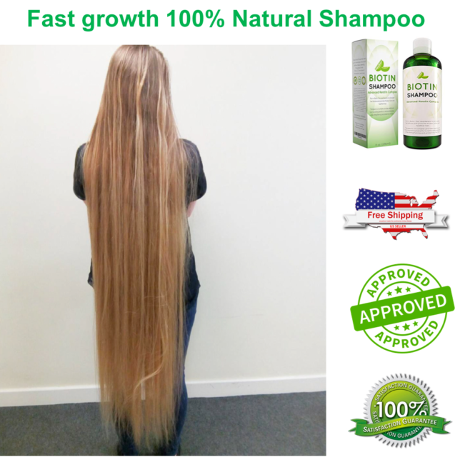 Hair Growth Natural Hair Loss Shampoo For Men And Women With