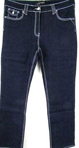 Denim Jeans Damen Classic 48 Indigo Neu 46 Blau Stretch Blue Tubi Langgröß Sexy qtExUwB