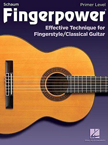 Chad Johnson Fingerpower Primer Level Classical Guitar