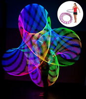 Flash Lights Colorful Light Flash Led Hula Hoop Fitness Increased M