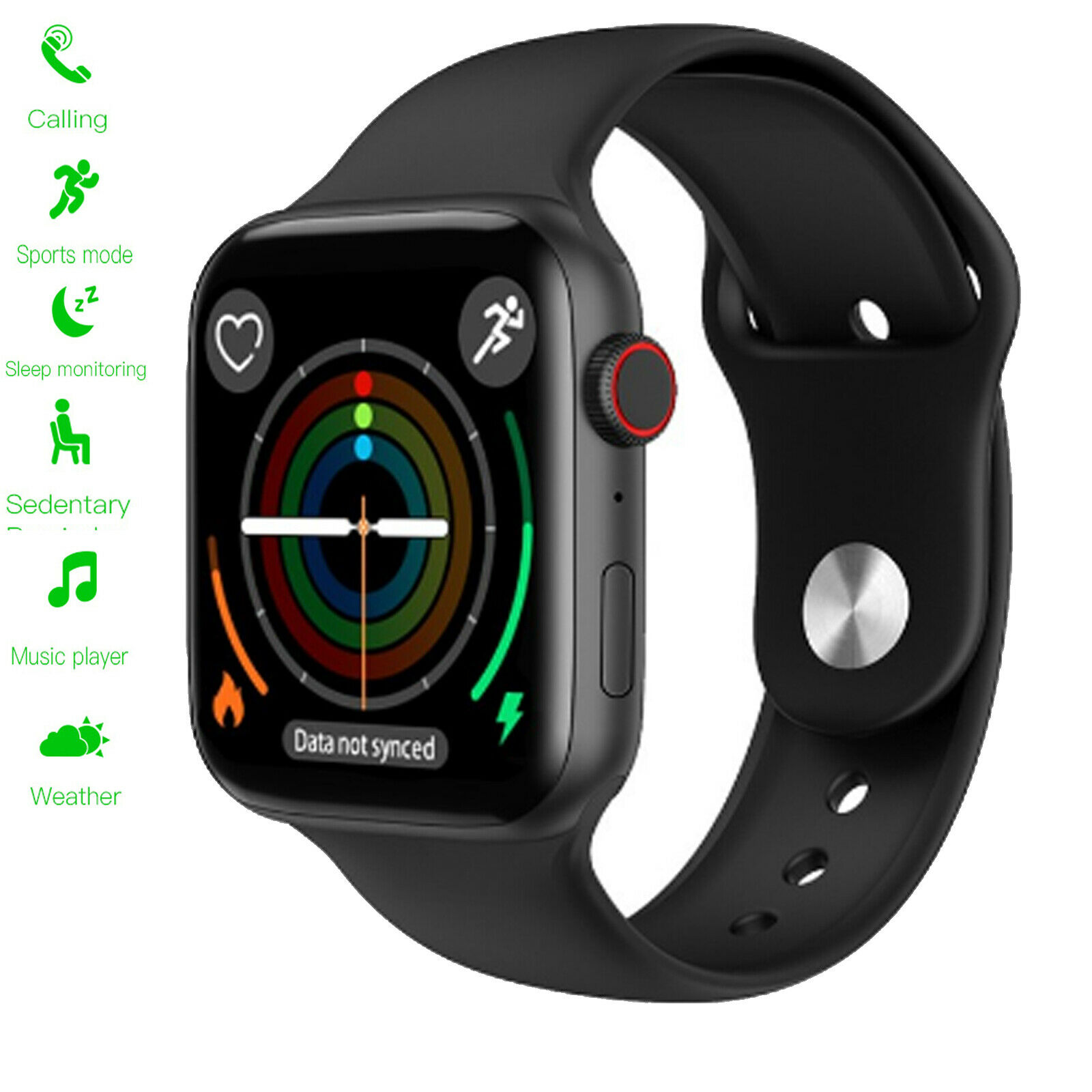 Touch Screen Smart Watch Bluetooth Call Music for Android Samsung Motorola G6 G7 android bluetooth call Featured for music samsung screen smart touch watch