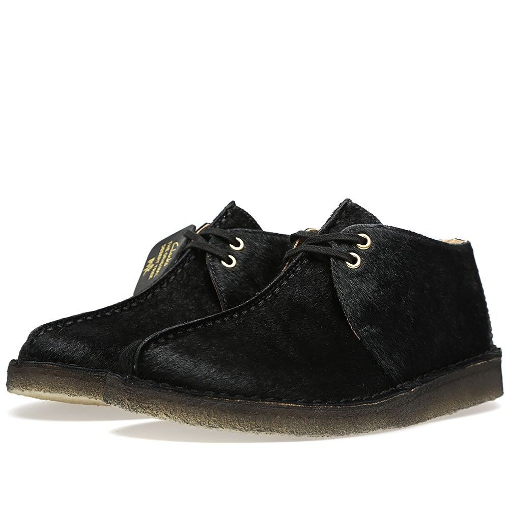 Clarks Original  DESERT PONY TREK MILK  BLACK PONY DESERT HAIR  UK 6,7,8,9,10,12 F c16c88