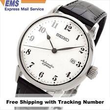 SEIKO PRESAGE SARX027 Automatic Analog Black Leather Men's Watch Made in Japan