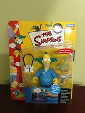 "The Simpsons ""Busted Krusty The Clown"" Interactive Figure! Still In packaging!"