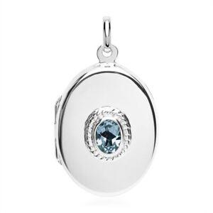 Blauer-Topas-Medaillon-Anhaenger-925er-Silber-Symbol-Schmuck-NEU
