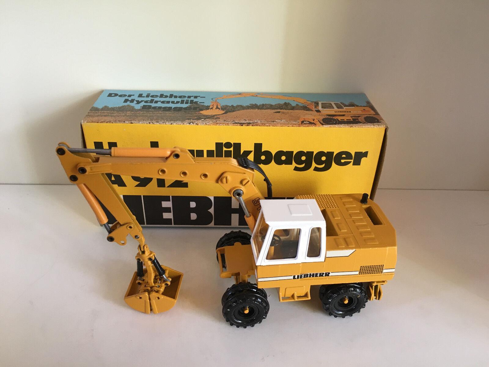 Liebherr A 912 mobile Excavateurs de Conrad 2822 2822 2822 1:50 Neuf Dans Sa Boîte   De Nouveaux Produits 2019  92f40c
