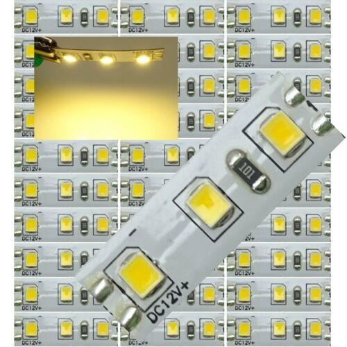 Mini-Platine LED Warm-Weiß 3 LED´s auf 8x25mm z.B Hausbeleuchtung C5007