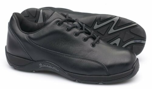 Black Lthr, Heat//Oil /& Slip Resistant Blundstone 741 Women/'s Safety Work Shoe