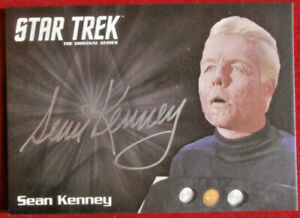 STAR-TREK-TOS-50th-SEAN-KENNEY-as-Captain-Pike-LIMITED-EDITION-Autograph-Card