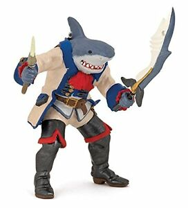 Papo 39460 034 Shark Mutant Pirate034 Figure Toy Play Hand Painted New - <span itemprop=availableAtOrFrom>UK, United Kingdom</span> - You may return any items by contacting us within 14 days of delivery, buyer pays return postage if the return is not an outcome of our error. Most purchases from business sellers are protected - UK, United Kingdom