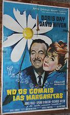 Used  Cartel de Cine NO OS COMAIS LAS MARGARITAS Vintage Movie Film Poster Usado