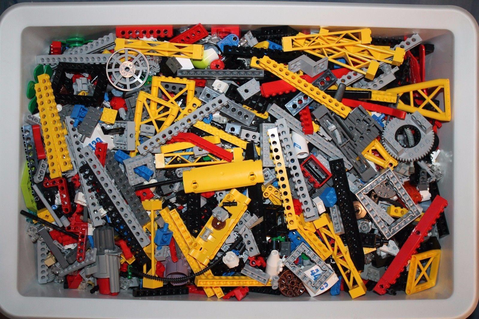 250 Teile Lego Technik Technic Zahnräder Liftarme Pins Stopper Zylinder Reifen