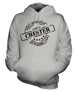 per In Made uomo cappuccio con Felpa da donna Chester unisex ZwqafBw