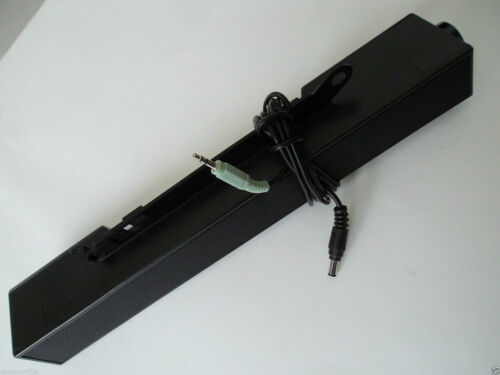 Dell AX510 Multimedia PC Black Sound Bar Speaker Vol No A//C Adapter C730C DW711