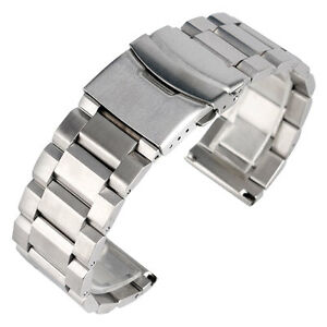18-20-22-24mm-Solid-Link-Watch-Band-Wrist-Strap-Solid-Stainless-Steel-Watchband