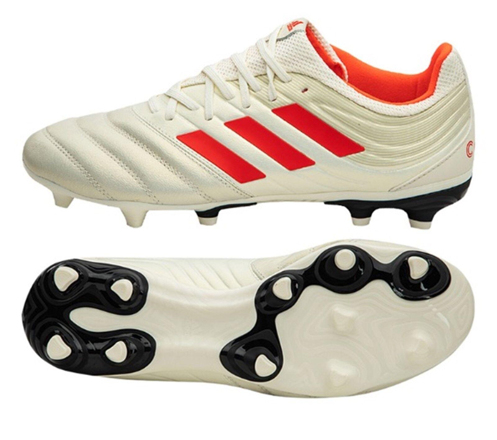 Adidas Hombres Botines De Fútbol Copa 19.3 Fg Fútbol Zapatos Bota Spike BB9187 blancoo