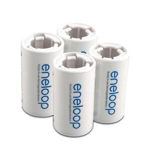 Image Is Loading Eneloop Battery Converter Adaptor Holder AA R6
